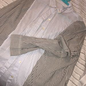 Button up blouse from Old Navy